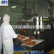 自動油炸生產線 面食油炸生產線 麻花油炸生產線