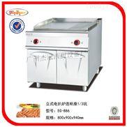 立式电热扒炉连柜座/煎饼