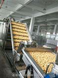 全自动豆泡油炸生产线