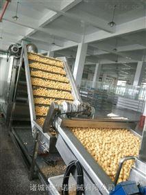 豆腐泡油炸生产线