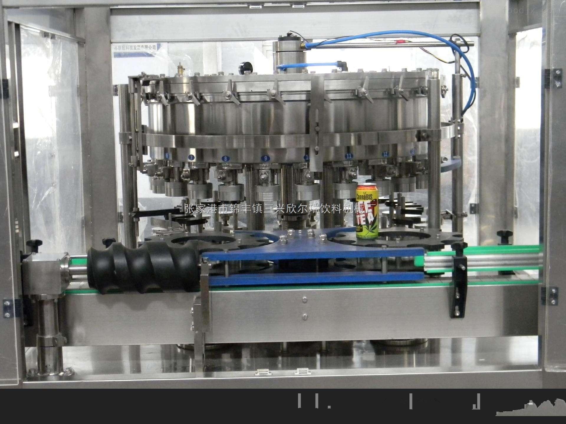 易拉罐饮料灌装机生产线