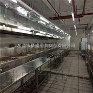 廚房高壓油煙凈化器設備 廚房設備工程  304不繡綱廚房設備