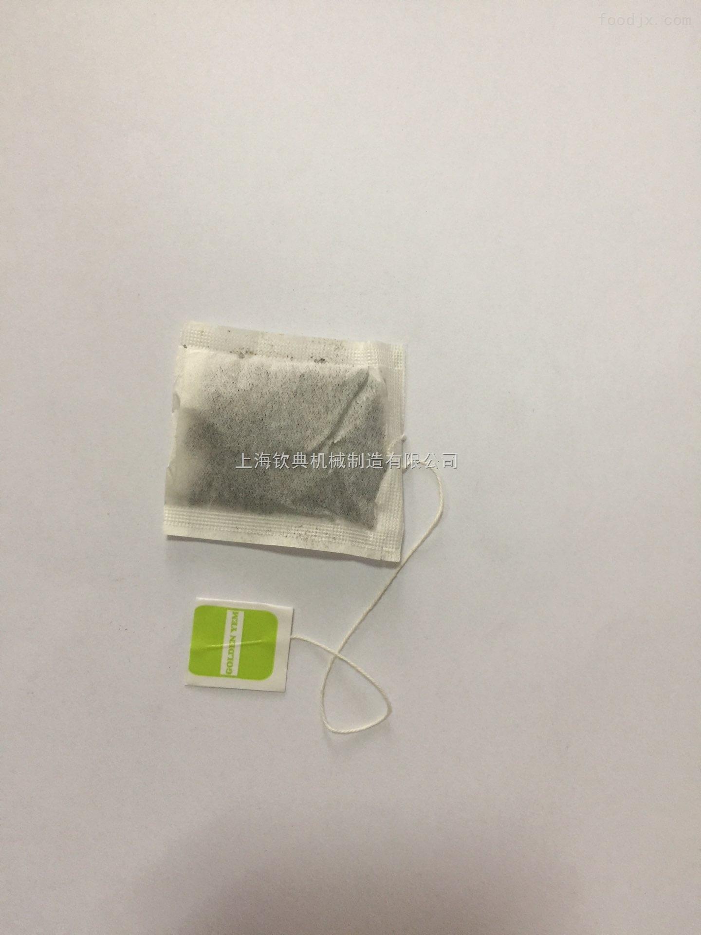 袋泡茶包装机 带挂标签