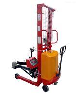 DCS-HT-Y300kg半电动油桶倒料车电子秤
