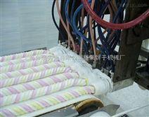 双色棉花糖浇注生产设备 可生产不同形状不同颜色棉花糖生产线