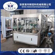 YFGF12-12-4厂家供应青岛易拉罐啤酒三合一灌装封口机