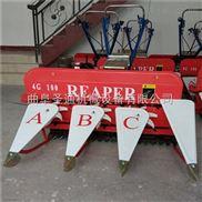 轻型自走式收割机,高低作物都能收的割晒机