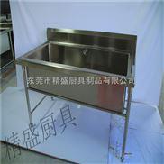 厂家定做厨房操作台单星池不锈钢单星盆台 双星盆台水槽不锈钢