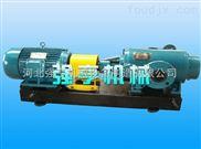 双螺杆泵可用于气液混合物料的输送密封可靠无泄漏