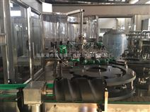 小型玻璃瓶含氣(qi)飲料(liao)生產線