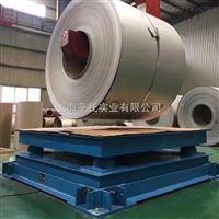 三层抗缓冲钢卷电子磅秤2T价格 贵阳5T称钢材缓冲电子地磅