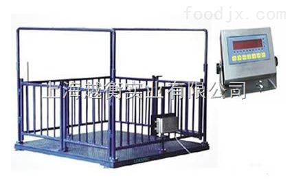 养殖场用不锈钢电子地磅秤 郊区养殖场电子秤
