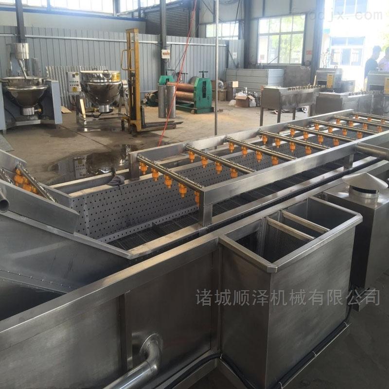 全自动百香果清洗机 果酱厂专用清洗设备