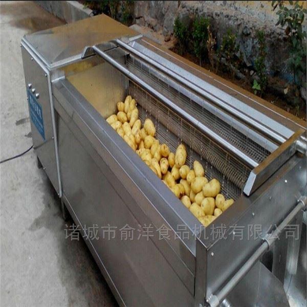 厂家生产多功能金银花高压喷淋气泡清洗机