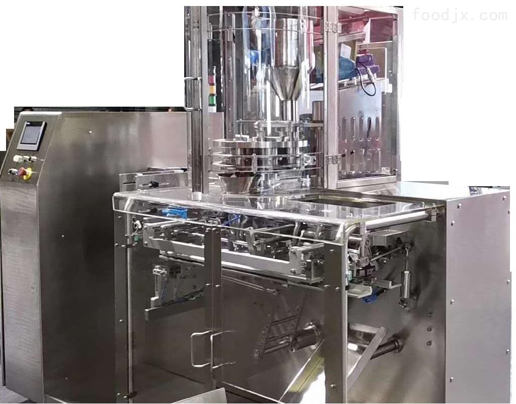 多用途不锈钢食品包装设备水平给袋包装机