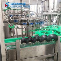 玻璃瓶铝盖灌装机等压三合一灌装设备