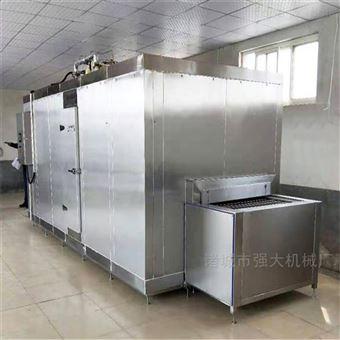 100KG紫薯地瓜速冻机 隧道式速冻设备