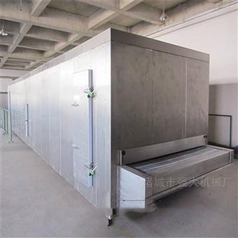 100kg灌汤包隧道式速冻机