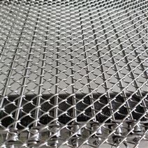 不銹鋼菱形網帶