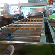 凈菜加工設備~全自動蔬菜清洗流水線