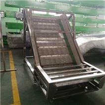 304不锈钢链板输送机 食品耐高温传送带