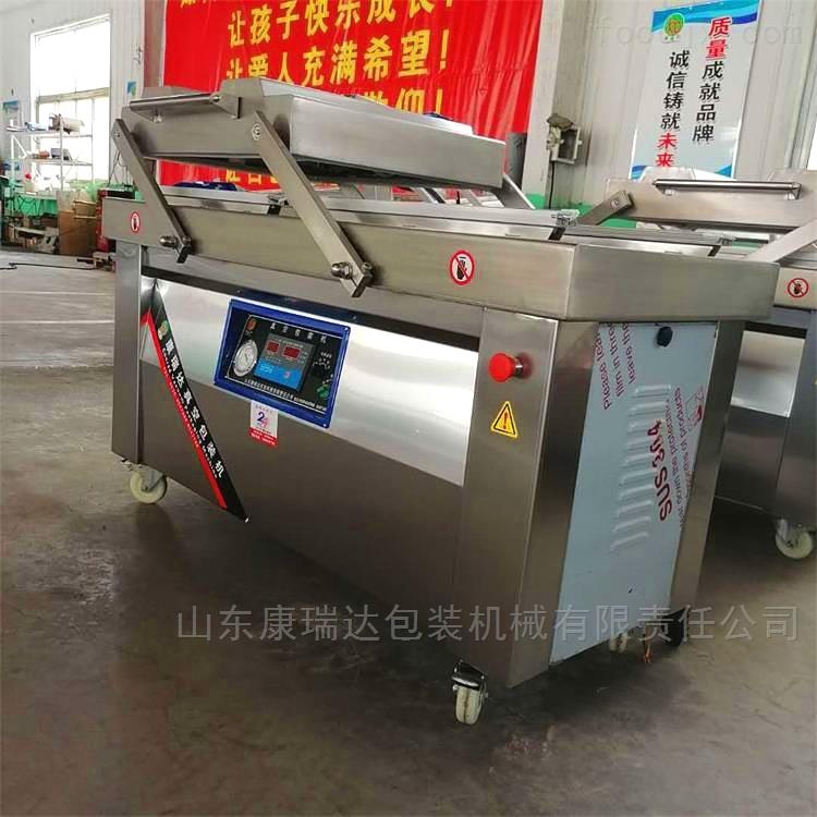 扬州糯米藕片抽空机 平台式真空包装机