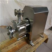 食品級管線式粉液混合均質乳化泵