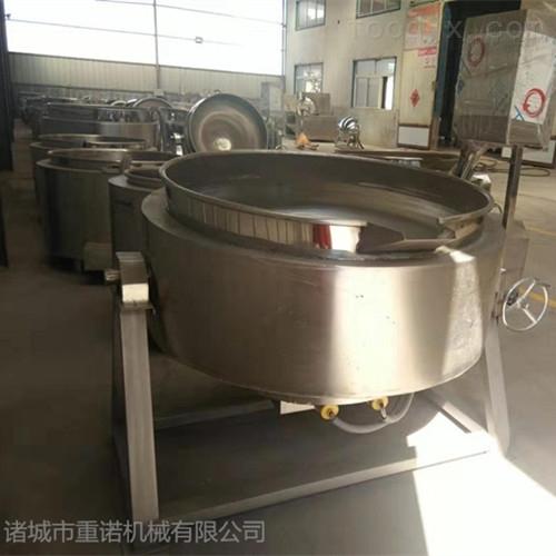 食品蒸汽夹层锅的使用方法