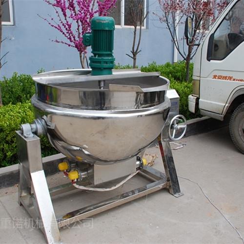 桂花糖熬制立式蒸汽夹层锅