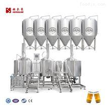 啤酒釀造設備精釀啤酒糖化設備,發酵罐