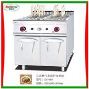 GH-988立式燃气煮面炉连柜座/汤粉面炉/厨房设备