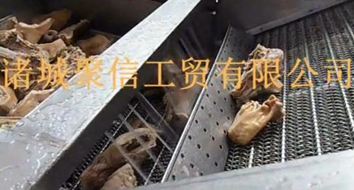 肉类漂烫蒸煮线