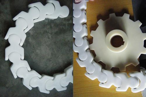 rs60p塑料链条,椿本塑料链条