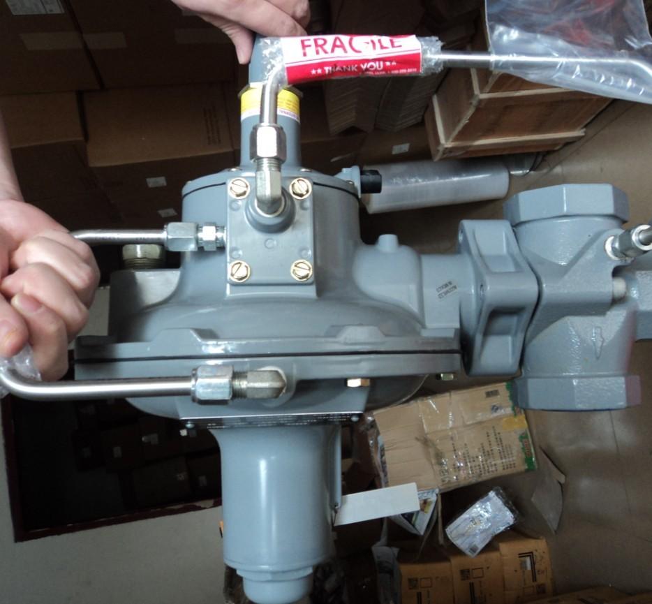 适用于天然气系统区域控制及工业,公共用户的调压器     调压精确