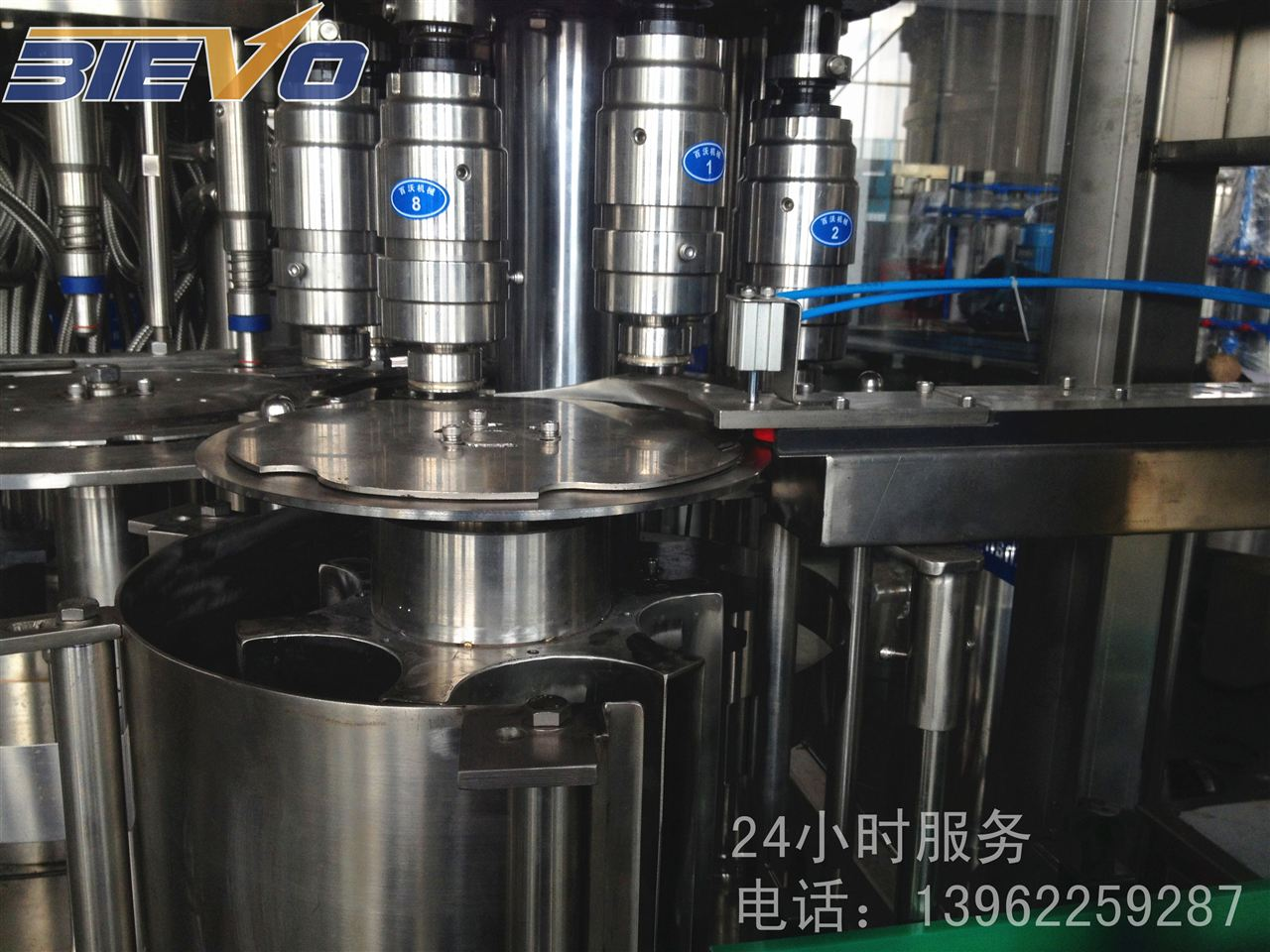 三合一纯净水灌装机 瓶装水灌装设备