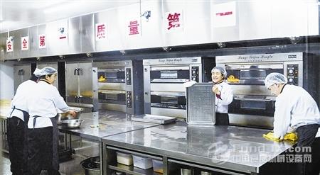 中央厨房 让天津高校食堂赢得好评图片