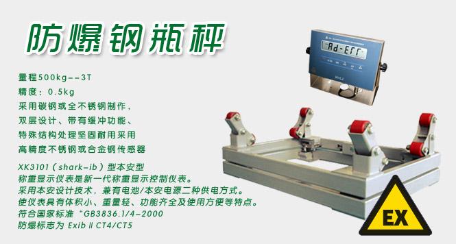 上海钢瓶秤,2吨钢瓶电子秤,防爆电子钢瓶秤价格