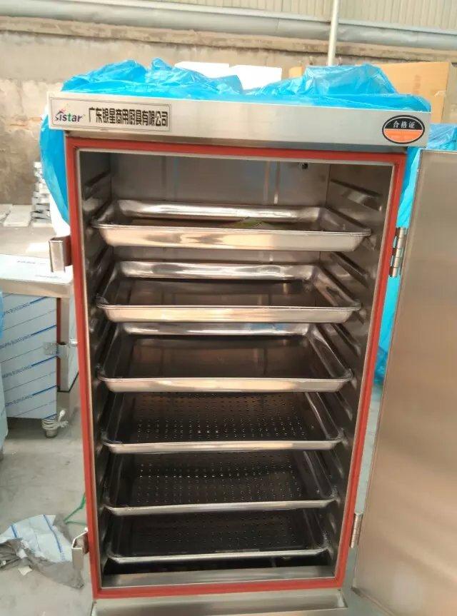 单门4盘电汽两用电蒸箱220v6kw食品蒸饭柜