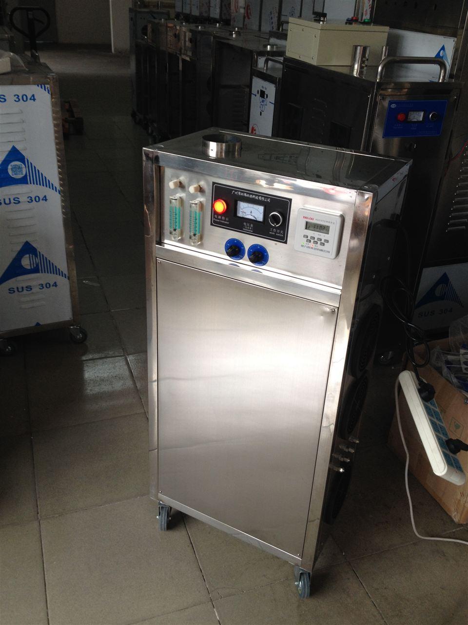hw-o2-o3-50 油漆生产用水杀菌臭氧发生器,冷却水杀菌除臭臭氧机