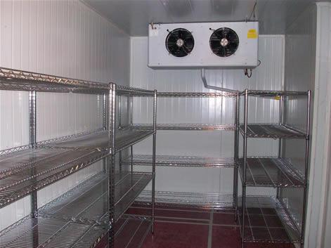 冷冻冷藏厨房双温冷库设计