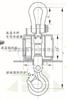 OCS-SZ系列电子吊秤炼钢行业专用无线耐高温电子吊秤2T
